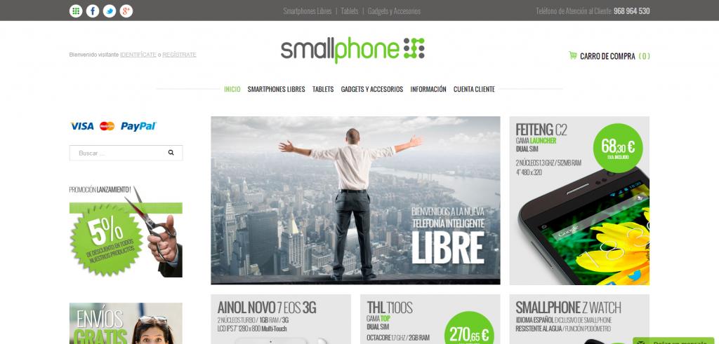 Tienda Online de Smallphone