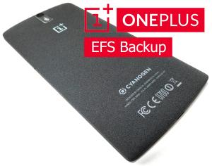 backup EFS OnePlus one
