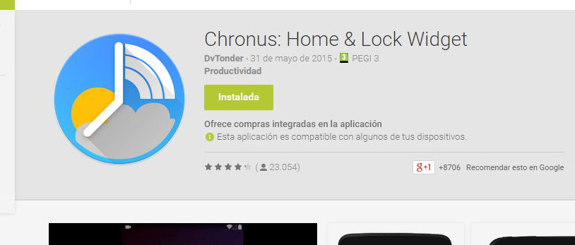 Chronus Widget